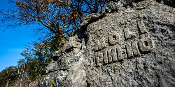 Oddychové miesto Moli, medzi obcami Pilisszentlászló a Visegrád