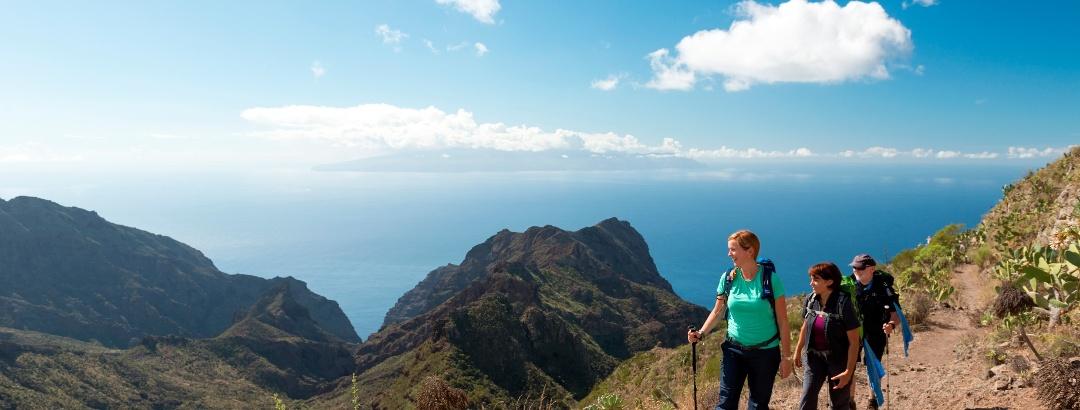 Wanderung im Teide-Gebirge