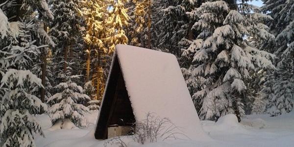 Winter bei Geyer