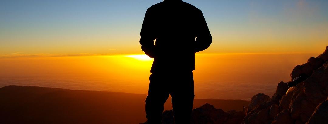 Am Pico de Teide 3718m