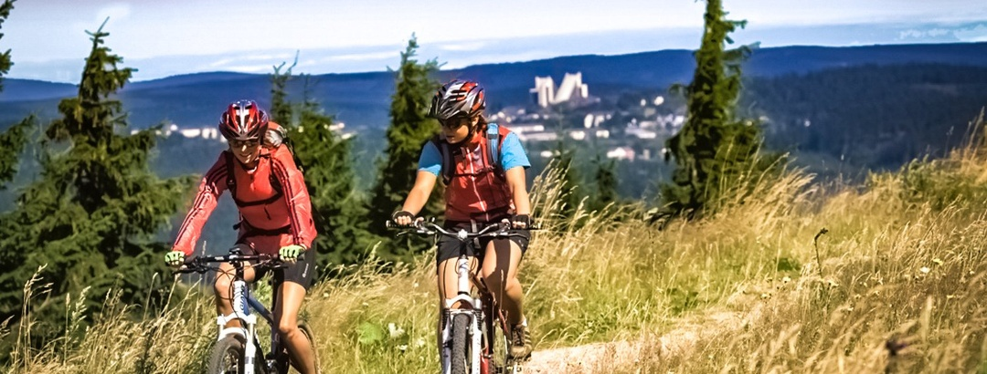 Trail bei Oberhof