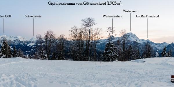 Gipfelpanorama vom Götschenkopf