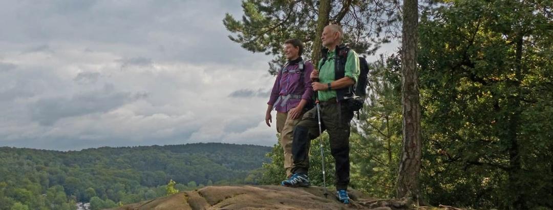 Wanderer am Königstein