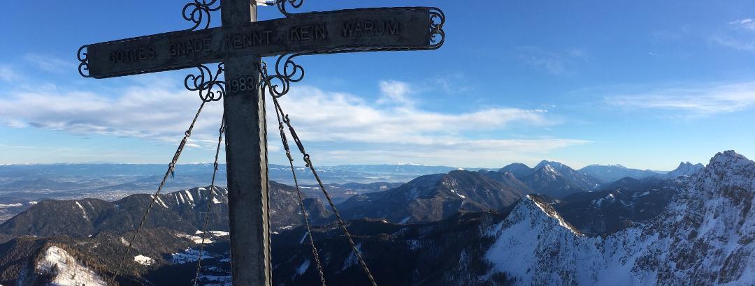 Gipfelkreuz Bielschitza