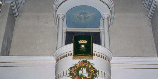 Kanzel der St.-Michaeliskirche