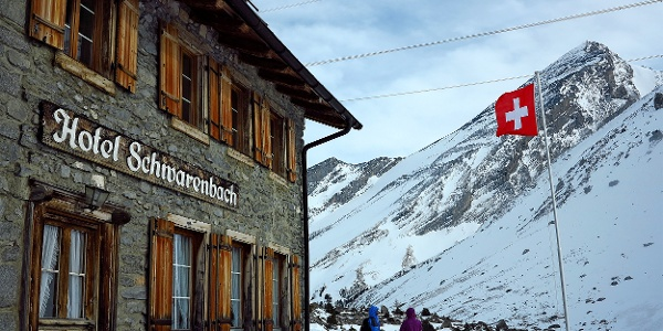 Berghotel Schwarenbach.