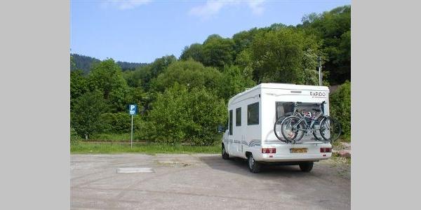 Wohnmobilstellplatz Alpirsbach