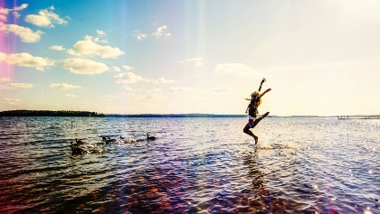 Lake Saimaa swimming