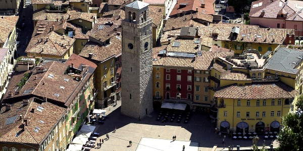 The centre of Riva with the Apponale Tower