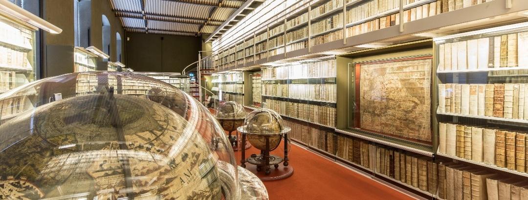 Herzog August Bibliothek Innenansicht