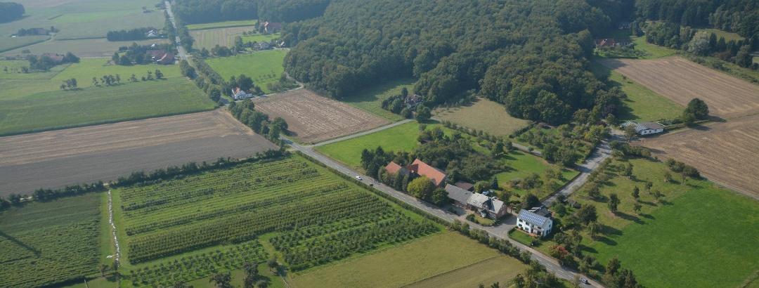 Luftbild Stemweder Berg
