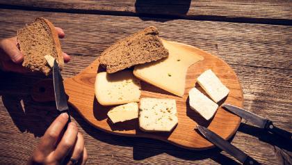 Besuch auf der Käsealm, absolut genial!