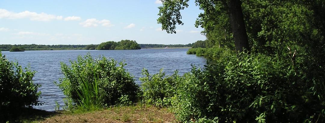 Am Ufer der Thülsfelder Talsperre gibt es viele idyllische Plätze zum Ausruhen.
