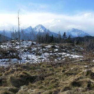 Watzmann und Hochkalter vom Nordgipfel