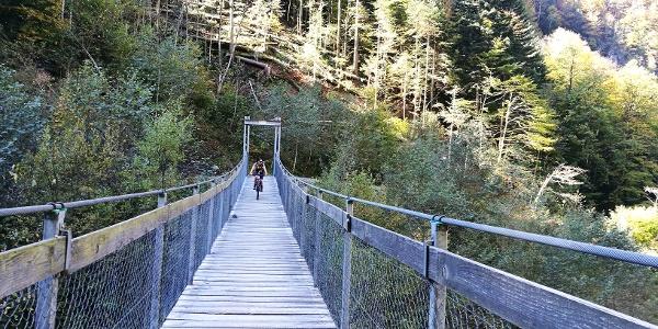 Brücke über die Engelberger Aa