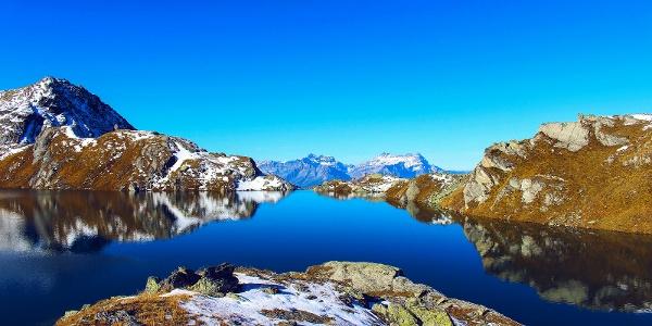 Bergsee Lac des Vaux
