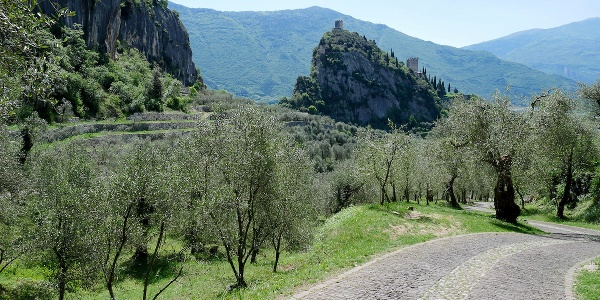 The Castle of Arco from Laghel