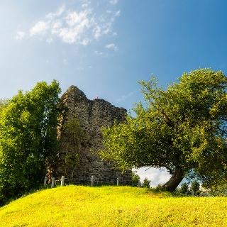 In der Ruine Last hielten sich einst Dienstleute des Bischofs von Konstanz auf.