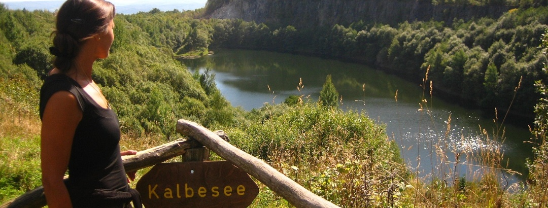 Blick auf den Kalbesee