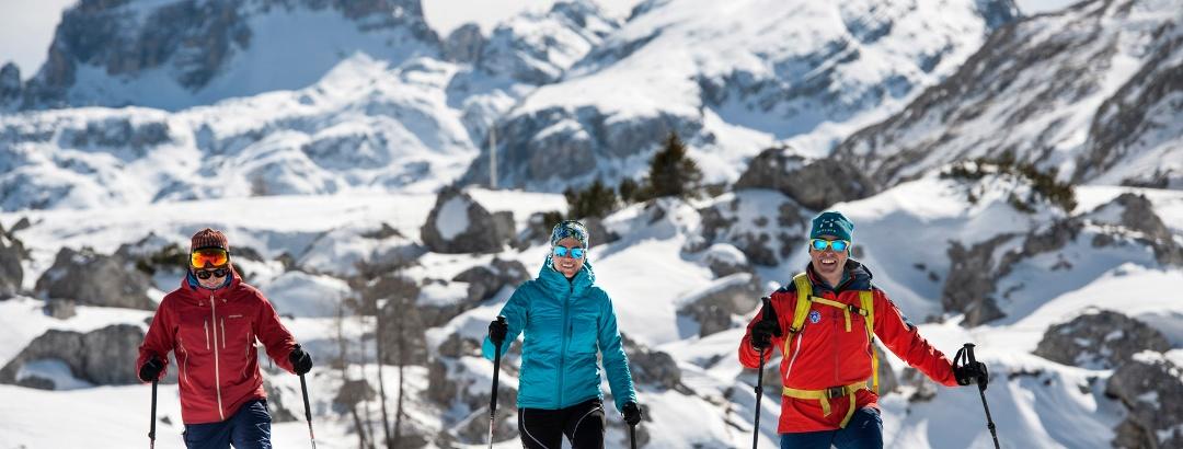 Winterwandern vor atemberaubender Kulisse