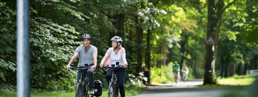 Radeln auf dem Fuldaradweg