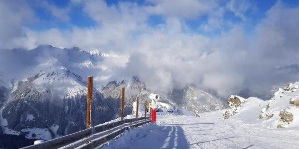 Skifahren auf der Silvretta Montafon