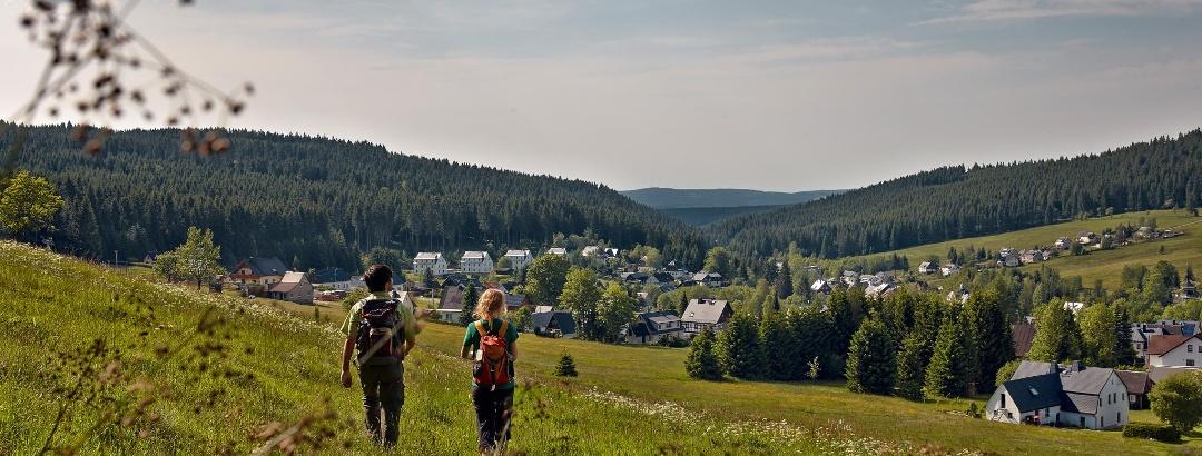 Wanderung am Carlsfeld