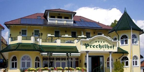 Prechtlhof in Althofen, das charmante Alpenhotel - Südansicht