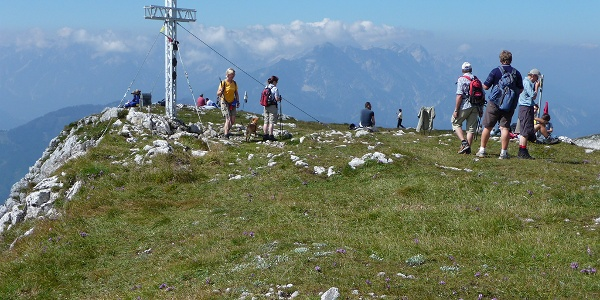 Gipfelkreuz am Hohen Nock