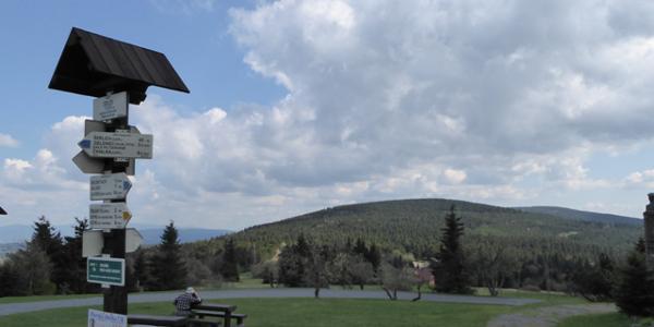 auf dem Gipfel Šerlich