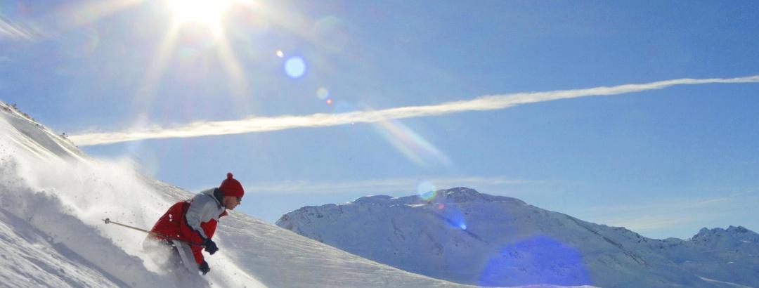 Skifahren am Sonnenkopf