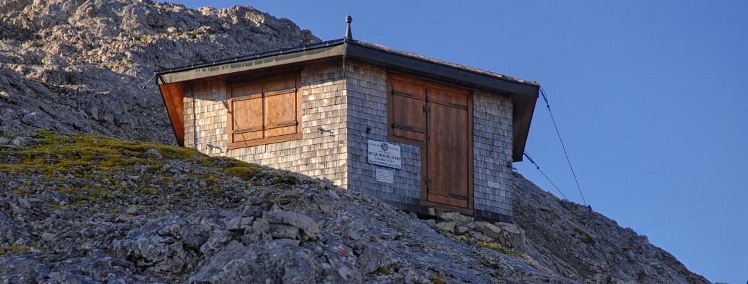 Wildalmkirchl-Biwak des ÖTK am Steinernen Meer, Hochkönig