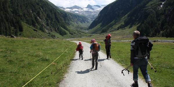 Kinderfreundlicher Wanderweg im Habachtal