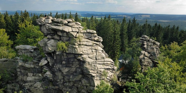 Kletterfelsen Greifensteine