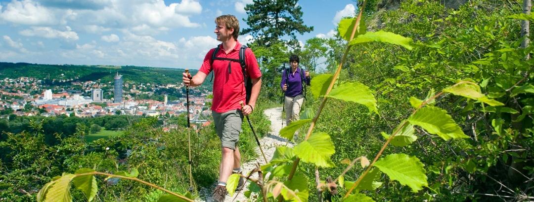 Saale-Horizontale mit gutem Blick auf Jena