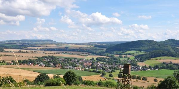 Landschaft bei Golmbach
