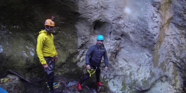 Julian Häring   Canyoning Touren im Allgäu und europaweit