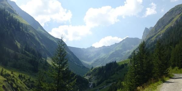2. Etappe - in die wilden Lechtaler Alpen (Sulzltal)