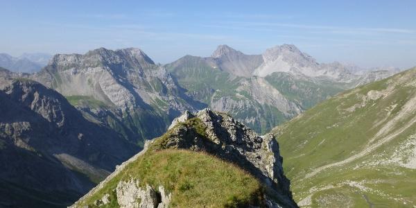 3. Etappe - in den Lechtalern (Hinterseejoch)