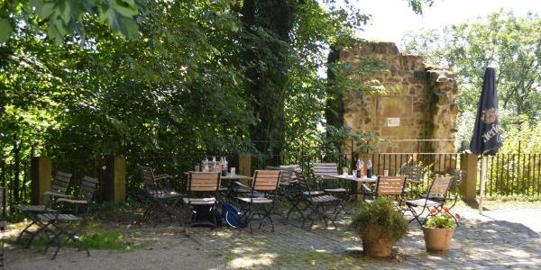 Außengastronomie Burg Ravensberg, Borgholzhausen
