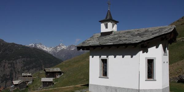 Kapelle bei Gspon.
