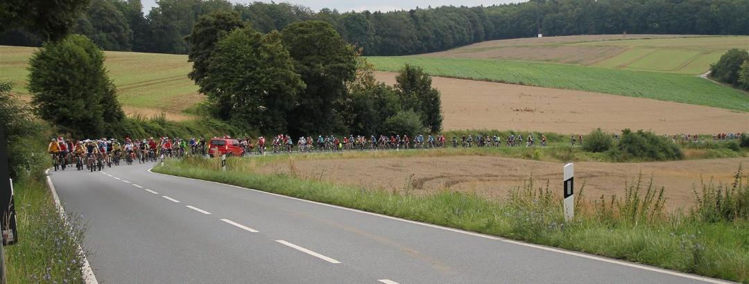 3-Länder-Rad-Event 2016 - unterwegs auf der Strecke