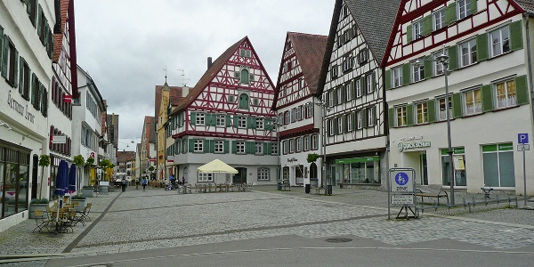Marktplatz in Riedlingen
