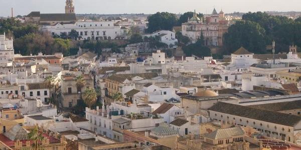 Ausblick über Sanlúcar de Barrameda