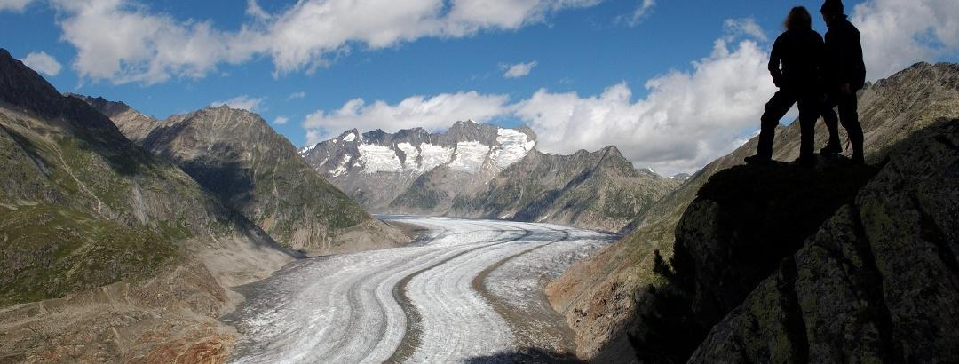 Der Große Aletschgletscher
