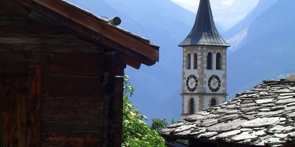 Kirchturm von Mund