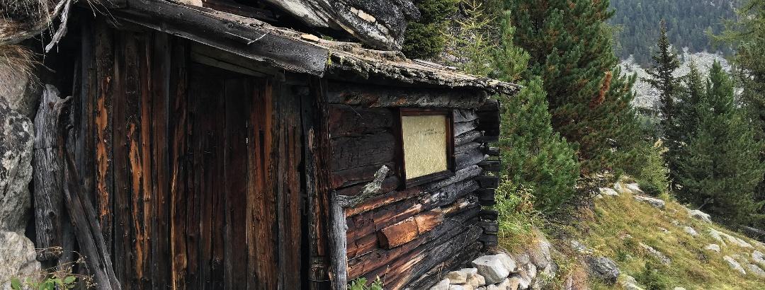Schäferhütte im Martelltal