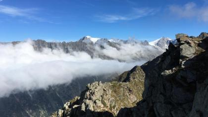 Monte Adamello vom Passo Ignaga