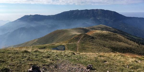 Monte Guglielmo (Golem) von Norden