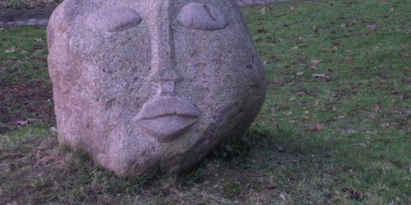 Skulptur von Anatol